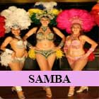 samba dance hen party in liverpool